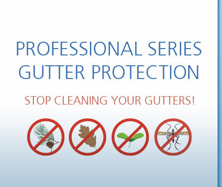 professional series gutter protection